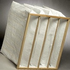 Pocket air filter 490x592x650 resistance 150