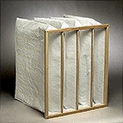 Pocket air filter 490x592x550 resistance 126