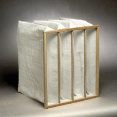 Pocket air filter 287x592x380 resistance 126, 4