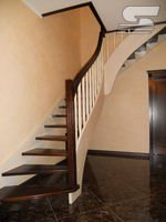 Деревянная Лестница - Г-образная (Дуб)