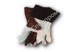 Gloves of the welder spilkovy