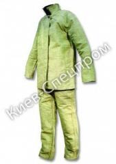 Suit of the welder