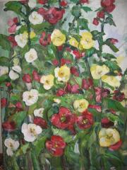 Картина маслом Цветы