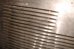 Sieve the slot-hole milled t=5mm of diffapparat of