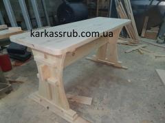 Столы деревянные садовые Донецкая область