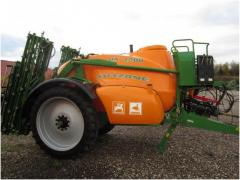 Hook-on sprayer of AMAZONE UX 4200 Super L36