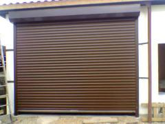 Garage gate of a rolleta Odessa