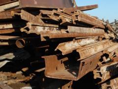 Dimensional steel scrap