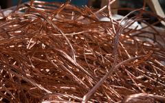 Scrap metal of non-ferrous metals