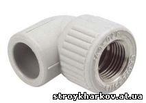 Колено с МРВ диаметр 20 х 1/2'' Wavin Ecoplastik