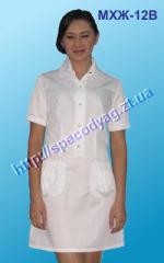 Medical neglige MHZh 27 with collar