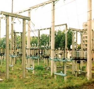 Конструкции железобетонные открытых подстанций 110