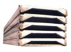 Плиты покрытий ребристые предварительно