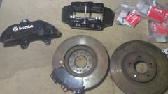 Brake whale of Brembo of 6 porsh. and disks of 320