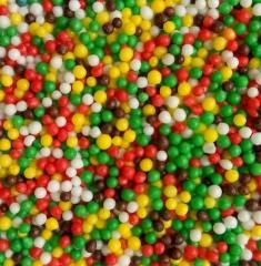 Topping easter sugar nonpareil, vermicelli