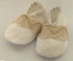 Bootees the Classic for baptism - Baptismal