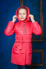 Пальто подростковое демисезонное