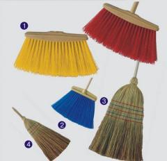 Brooms in assortmen