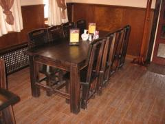Эксклюзивная деревянная мебель для баров