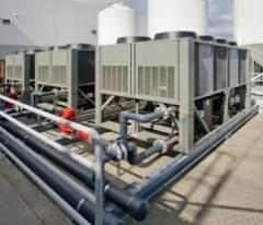 Sale of the heat exchanger of a chiller of McQuay,