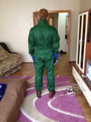 Fire-resistant suit from nomex