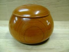 Bowls for game in Guo from a natural tree