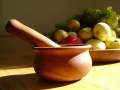 Тарелка древесно-опилочные под лаковую...
