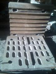 Плиты дробящие СМ-741;СМД-110;СМД-111
