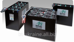 The traction MIDAC rechargeable batteries for