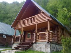 Дом из сруба дерева