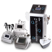 The device of an oxygen mesotherapy 5 in 1 Nova