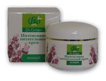 Face creams. Intensively nutritious cream (night)