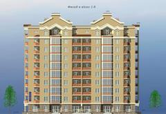 Standard project 9-et. residential building
