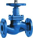 The valve is locking