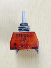 Тумблер ПТ3-10В
