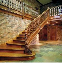 Лестницы и ограждения деревянные