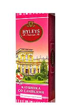 Tea Heylis Angliysky strawberry with cream 25 Pak.