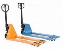 Hydraulic load trolleys