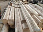 Components wooden for ready building constructions