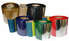 Tape coloring for thermo-transfer printing
