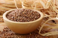 Grain extrusive buckwhea