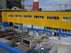 Строительство производственно-складских и торговых