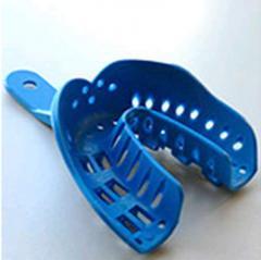 Оттискная ложка, маленькая, низ (синяя)