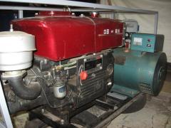 Оренда дизельного генератора 10 квт 400 вольт
