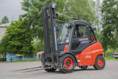 Fork gas truck of Linde H50T