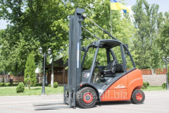 Fork gas truck of Linde H30T
