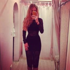 Роскошное платье из гипюра.