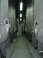 End fermentation devices