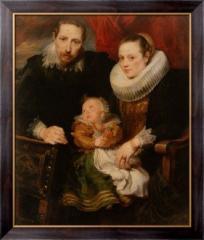 Картина Семейный портрет , Дейк, Антонис Ван
