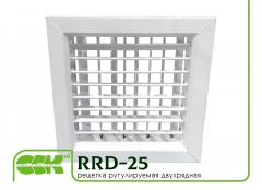 Lattice two-row ruguliruyemy RRD-25. Metal
